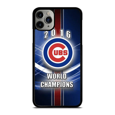 CHICAGO CUBS WORLD CHAMPIONS-iphone-11-pro-max-case-cover