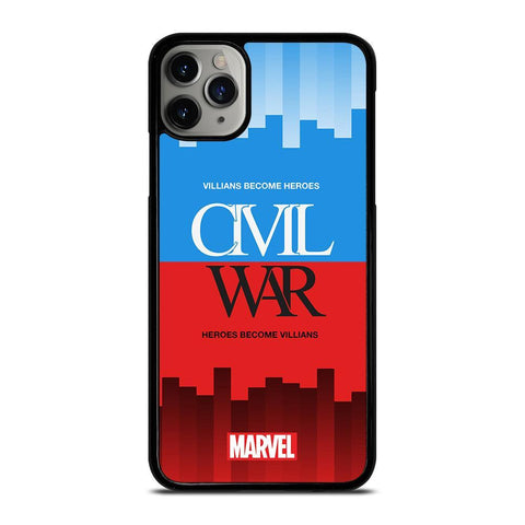 CIVIL WAR 3 Marvel Avengers-iphone-11-pro-max-case-cover