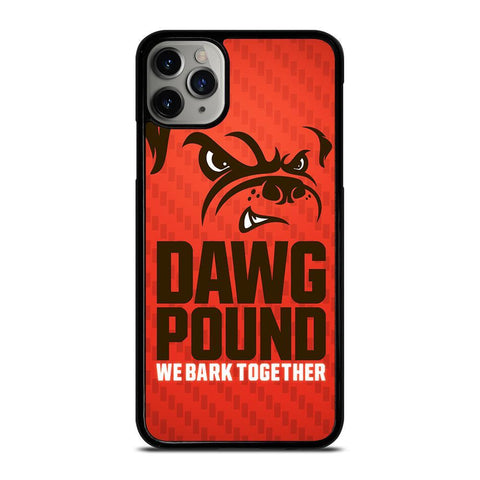 CLEVELAND BROWNS DAWG POUND-iphone-11-pro-max-case-cover