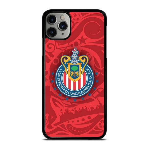 CLUB GUADALAJARA CHIVAS LOGO-iphone-11-pro-max-case-cover