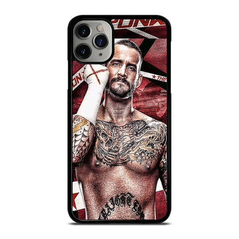 CM PUNK GLOVES-iphone-11-pro-max-case-cover