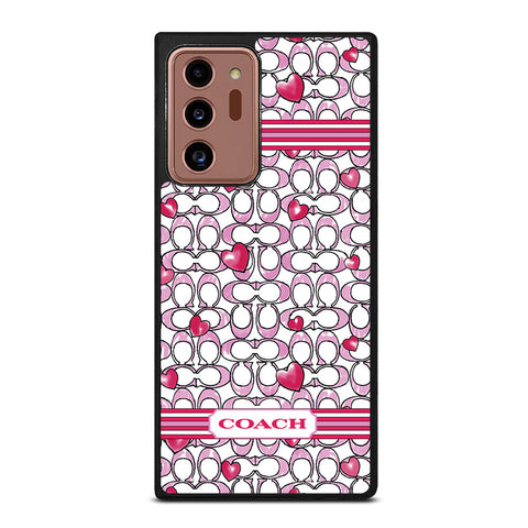 COACH NEW YORK LOVE Samsung Galaxy Note 20 Ultra Case Cover