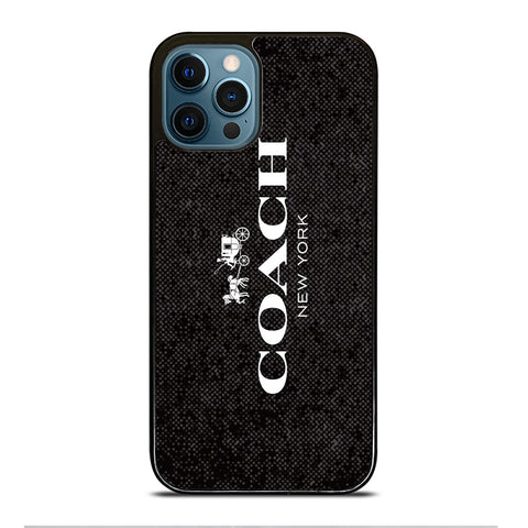 COACH NEW YORK SIGNATURE iPhone 12 Pro Max Case Cover