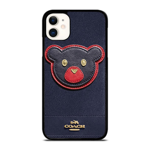 COACH NEW YORK BEAR-iphone-11-case-cover