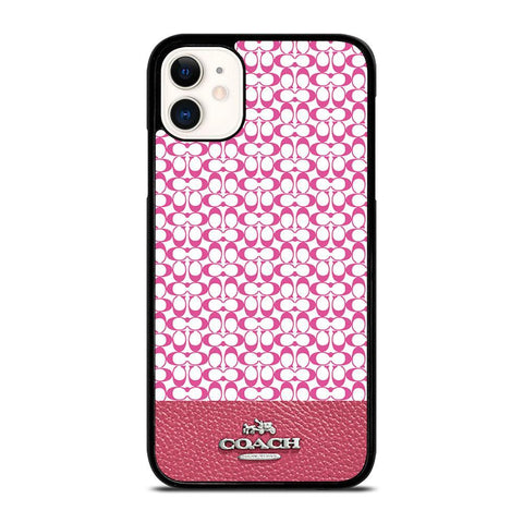 COACH NEW YORK PINK-iphone-11-case-cover