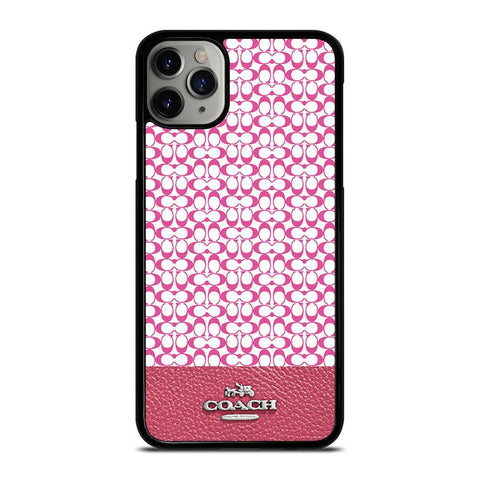 COACH NEW YORK PINK-iphone-11-pro-max-case-cover
