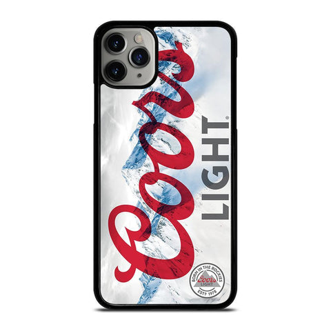 COORS LIGHT BEER 2-iphone-11-pro-max-case-cover