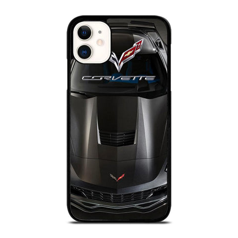 CORVETTE CAR GRAY-iphone-11-case-cover
