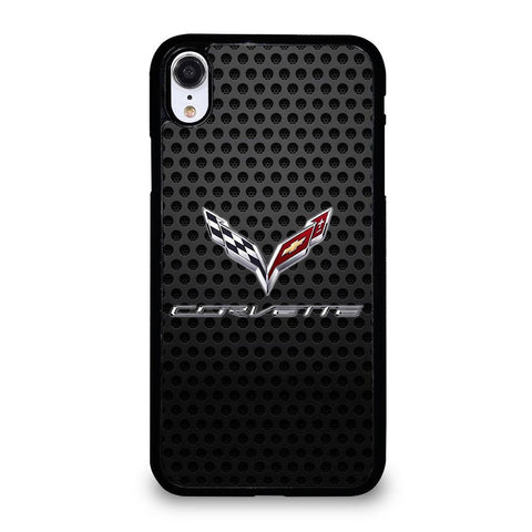 CORVETTE METAL ICON-iphone-xr-case-cover