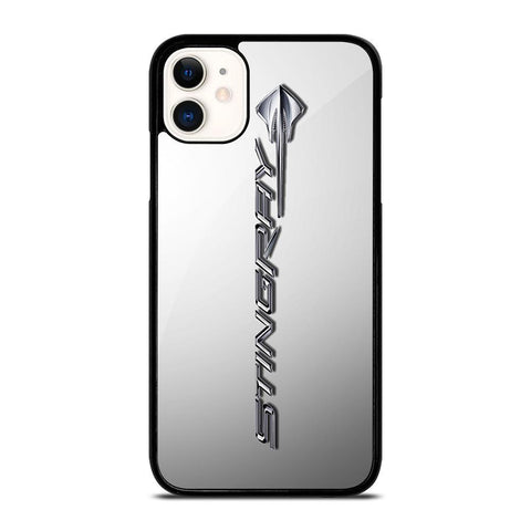 CORVETTE STINGRAY C7 EMBLEM-iphone-11-case-cover
