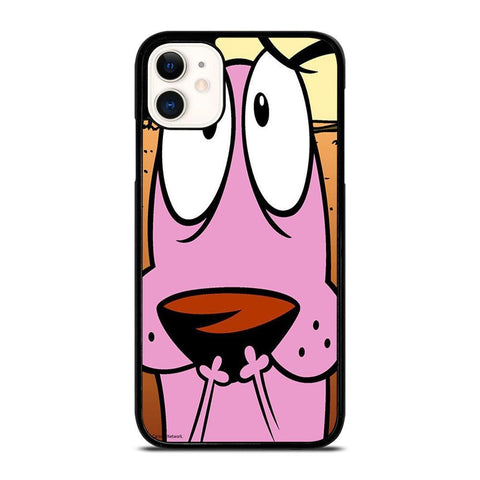 COURAGE THE COWARDLY DOG 3-iphone-11-case-cover