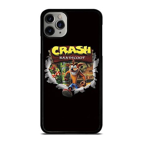 CRASH BANDICOOT CARTOON iPhone 11 Pro Max Case Cover