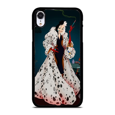 CRUELLA DE VIL DISNEY DALMATIAN iPhone XR Case Cover