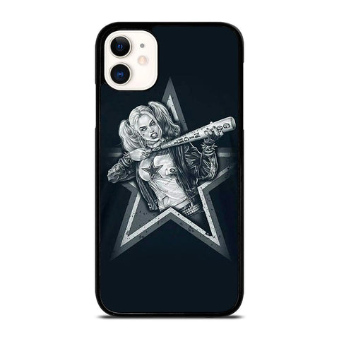 DALLAS COWBOYS HARLEY QUINN-iphone-11-case-cover