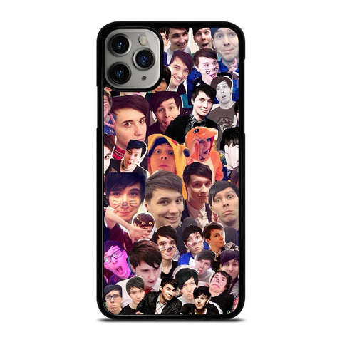 DAN AND PHIL COLLAGE-iphone-11-pro-max-case-cover