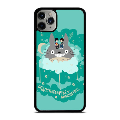 DAN AND PHIL TOTORO-iphone-11-pro-max-case-cover