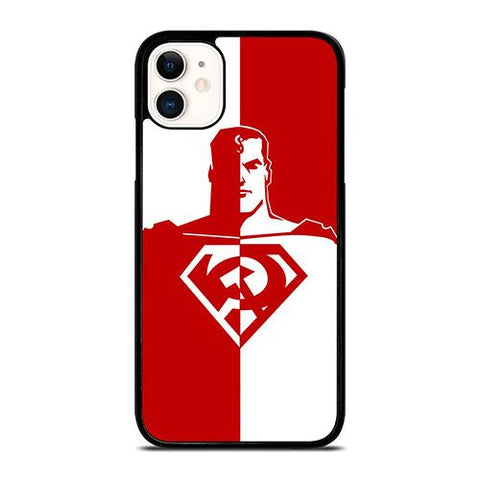 DC SUPERMAN RED SON ART iPhone 11 Case Cover