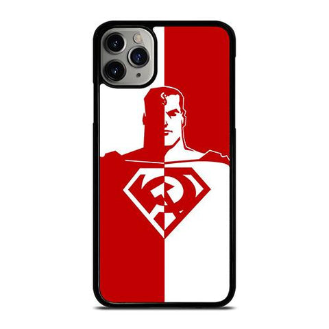 DC SUPERMAN RED SON ART iPhone 11 Pro Max Case Cover