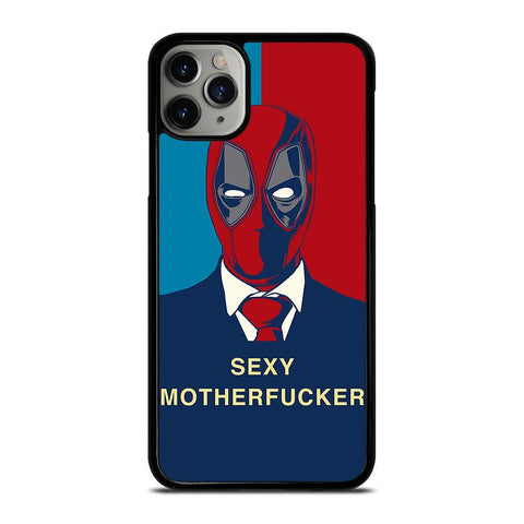 DEADPOOL SEXY MOTHERFUCKER-iphone-11-pro-max-case-cover