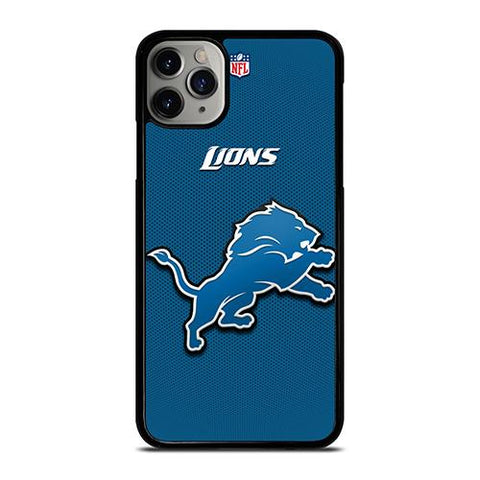 DETROIT LIONS NFL LOGO iPhone 11 Pro Max Case Cover