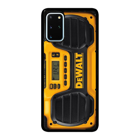 DEWALT JOBSITE RADIO Samsung Galaxy S20 Plus Case Cover