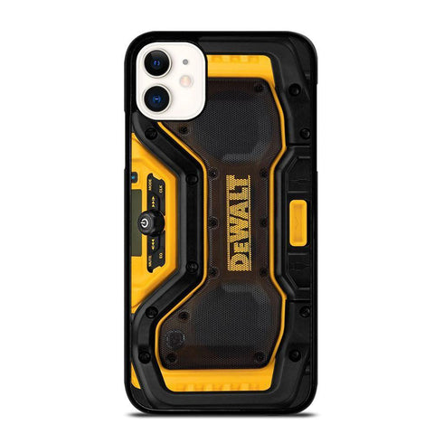DEWALT JOBSITE RADIO-iphone-11-case-cover