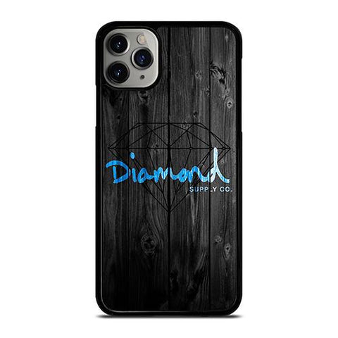 DIAMOND SUPPLY CO WOODEN LOGO iPhone 11 Pro Max Case Cover