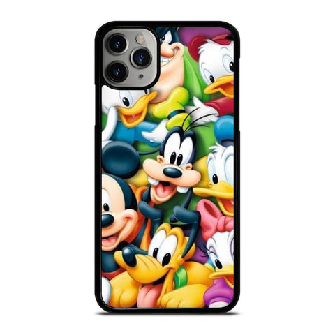 DISNEY DONALD DUCK AND FRIEND-iphone-11-pro-max-case-cover