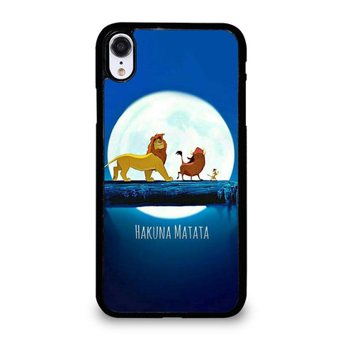 DISNEY HAKUNA MATATA LION KING iPhone XR Case Cover