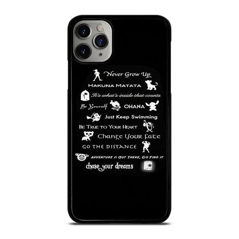 DISNEY LESSONS BLACK-iphone-11-pro-max-case-cover
