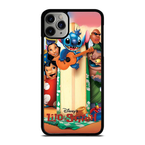 DISNEY LILO & STITCH CARTOON-iphone-11-pro-max-case-cover