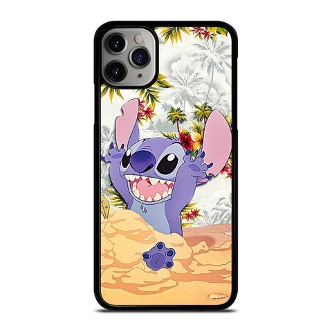 DISNEY LILO & STITCH VINTAGE FLORAL-iphone-11-pro-max-case-cover