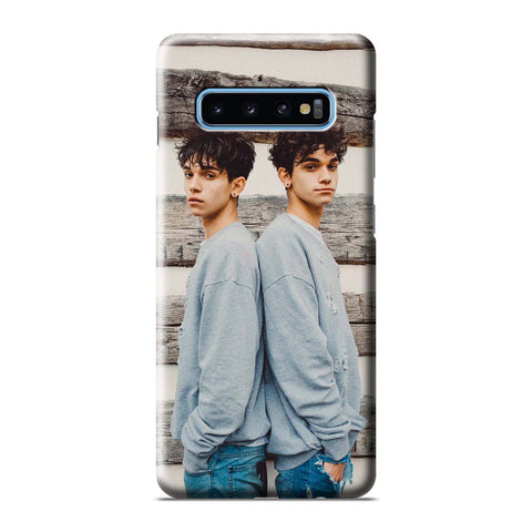 DOBRE BROTHER TWINS Samsung Galaxy 3D Case Cover
