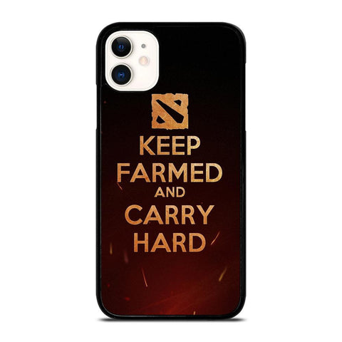 DOTA 2 KEEP FARMED-iphone-11-case-cover
