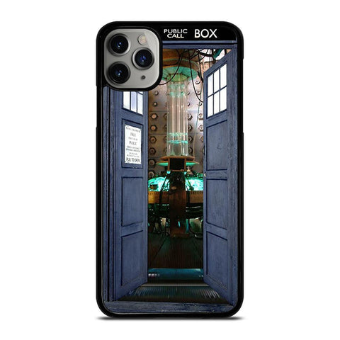 DR.WHO TARDIS OPEN THE DOOR-iphone-11-pro-max-case-cover