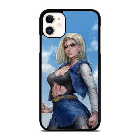 DRAGON BALL ANDROID 18-iphone-11-case-cover