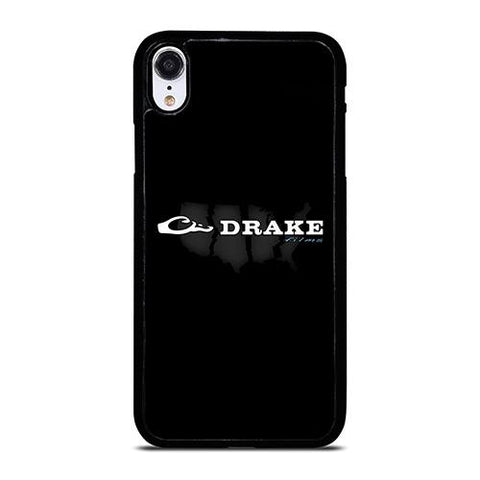 DRAKE WATERFOWL BLACK LOGO iPhone XR Case Cover