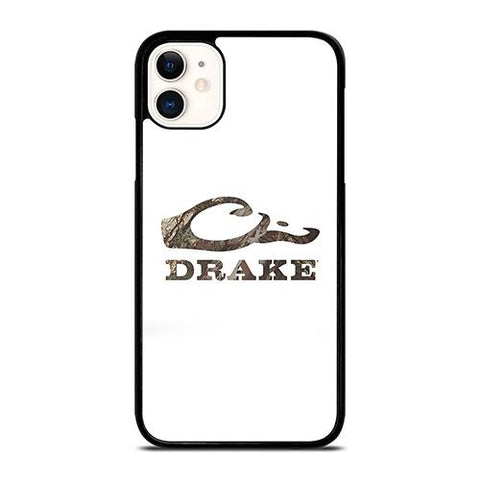DRAKE WATERFOWL WHITE LOGO iPhone 11 Case Cover