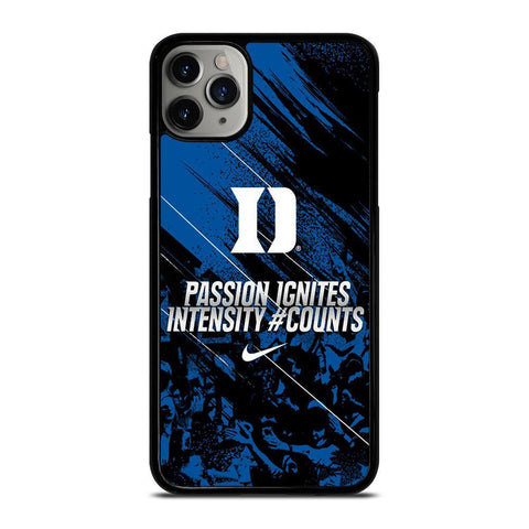 DUKE BLUE DEVILS PASSION IGNITES-iphone-11-pro-max-case-cover