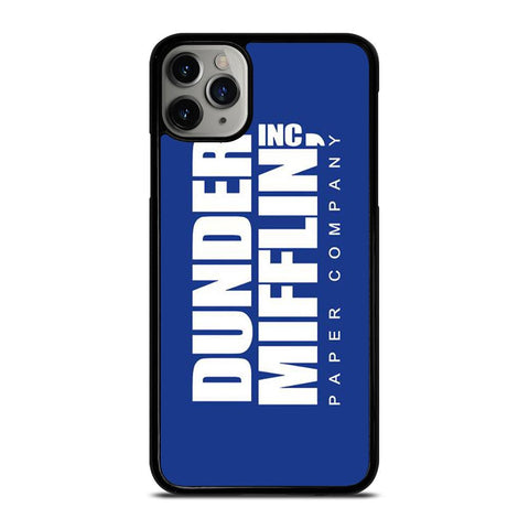 DUNDER MIFFLIN LOGO-iphone-11-pro-max-case-cover