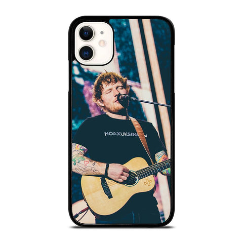 ED SHEERAN on GUITAR-iphone-11-case-cover