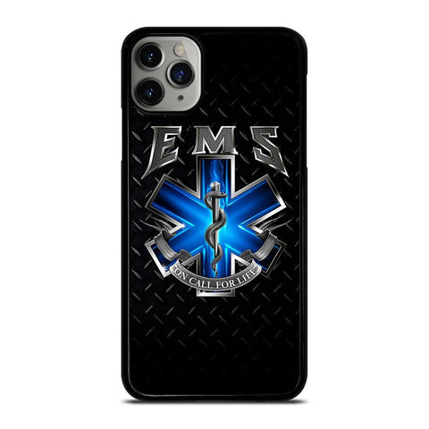 EMT EMS MEDICAL Logo-iphone-11-pro-max-case-cover