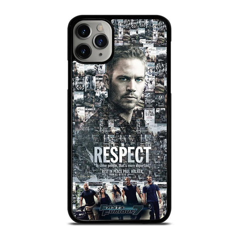 FAST FURIOUS 7 PAUL WALKER-iphone-11-pro-max-case-cover