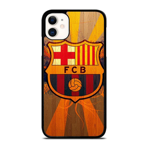 FC BARCELONA WOODEN ICON-iphone-11-case-cover