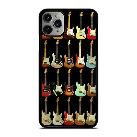 FENDER GUITAR COLLAGE iPhone 11 Pro Max Case Cover
