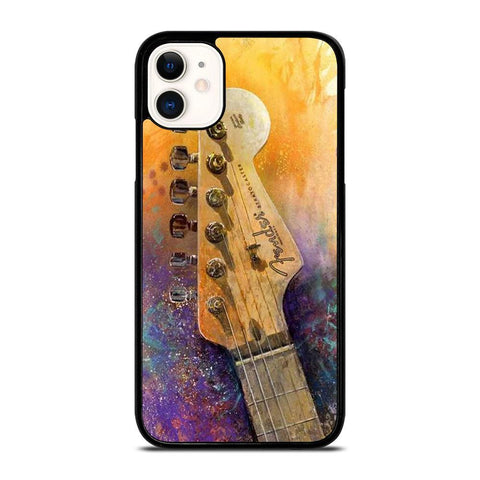 FENDER GUITAR LOGO-iphone-11-case-cover
