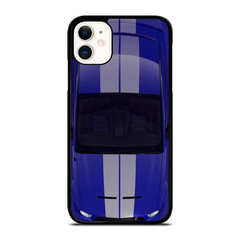FORD MUSTANG SHELBY BLUE-iphone-11-case-cover