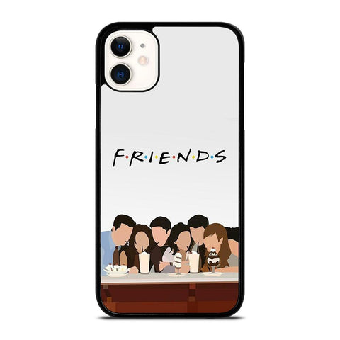 FRIENDS CARTOON-iphone-11-case-cover