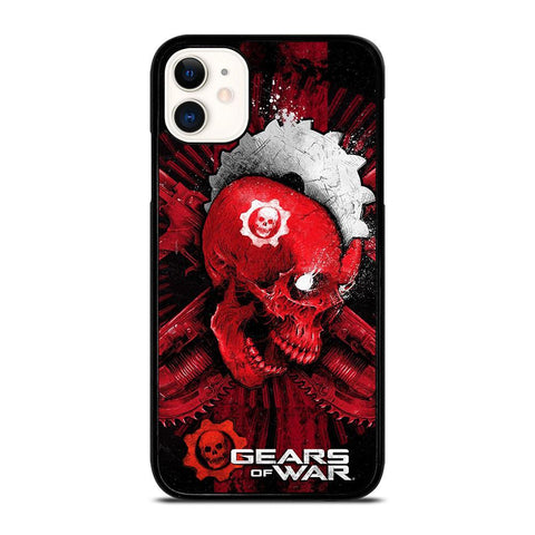 GEARS OF WAR SKULL-iphone-11-case-cover