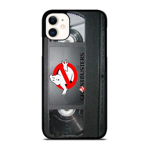 GHOSTBUSTER RETRO VHS TAPE-iphone-11-case-cover